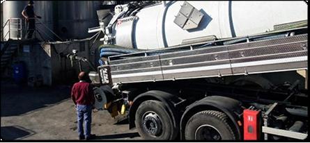 smaltimento rifiuti e liquami industriali